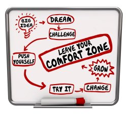 Image of leave your comfort zone