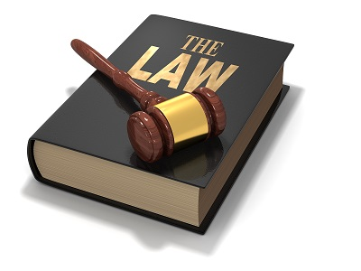 The Law book image